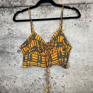 Urban Outfitters // Cropped Bandeau Top